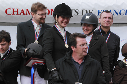 amateur team cso podium