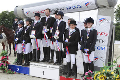 amateur teampodium dressage largeL