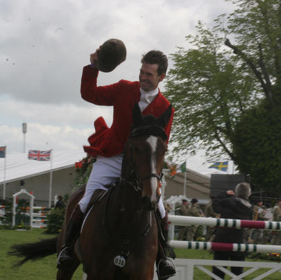 badminton 2014 Harry Meade et Wild Lone largeL