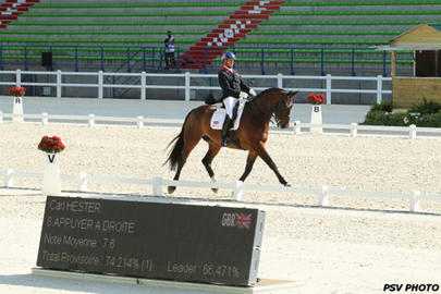 caen test event Carl Hester et Nip Tuck largeL