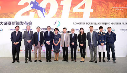 conf press Longines Equestrian Beijing Masters largeL