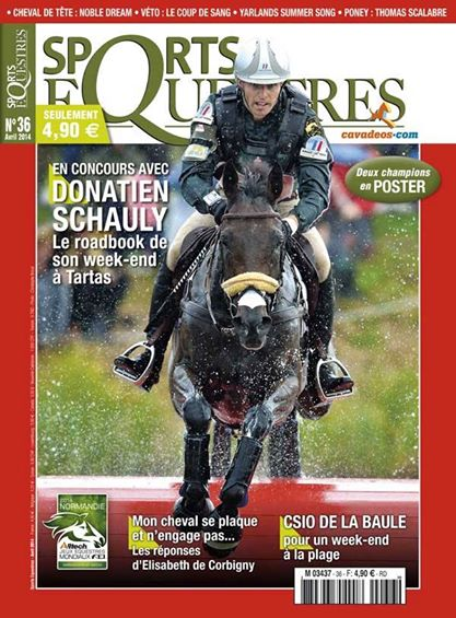 couv sports equestres avril 2014