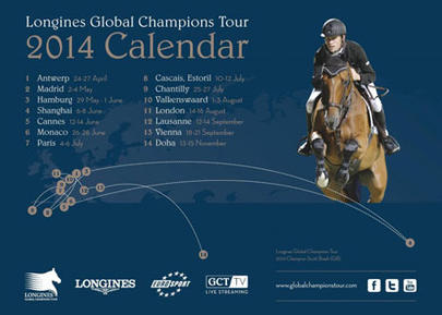 Global Champions Tour 2014- Longines largeL