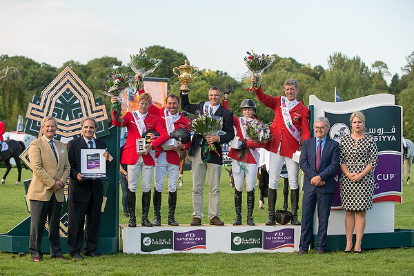 hickstead 13- allemand sur le podium