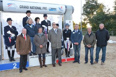 jablines Le podium du Grand National largeL