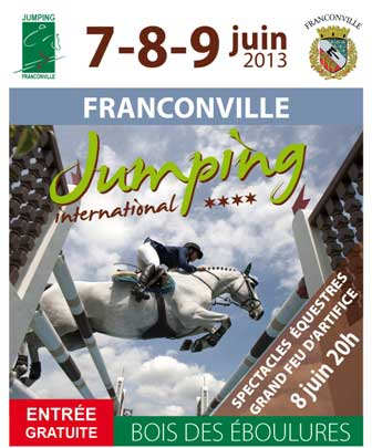 jumping franconville 2013- affiche