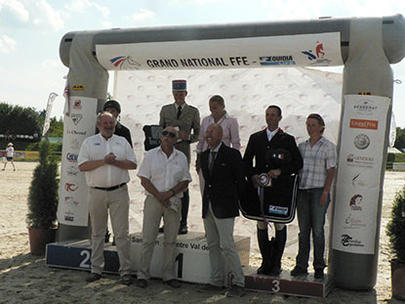 sandillon Le podium du Grand National largeL