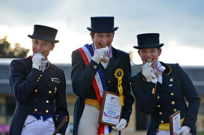 saumur 2013 Julia Chevanne, Catherine Henriquet et Claire Gosselin largeL