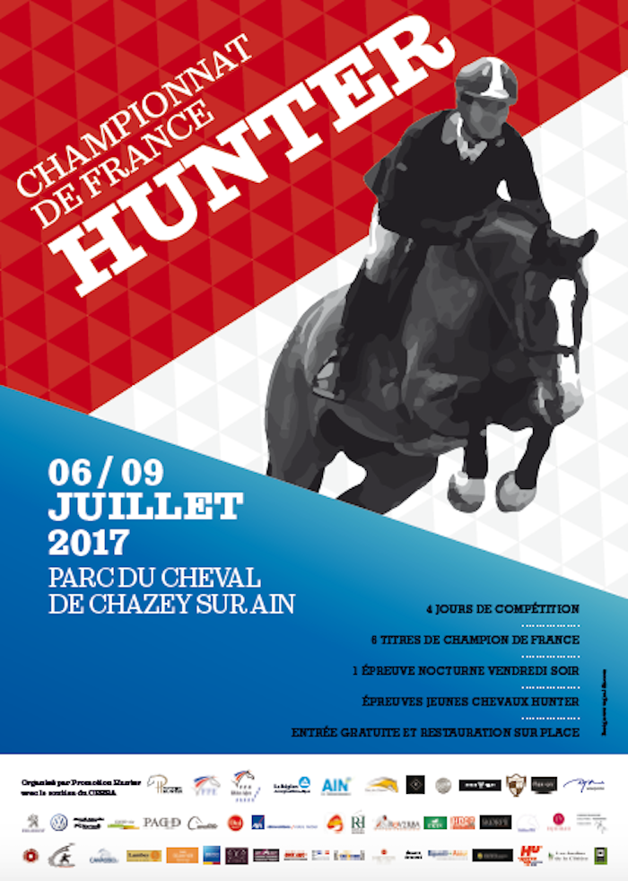 Affiche championnat de France Hunter 2017