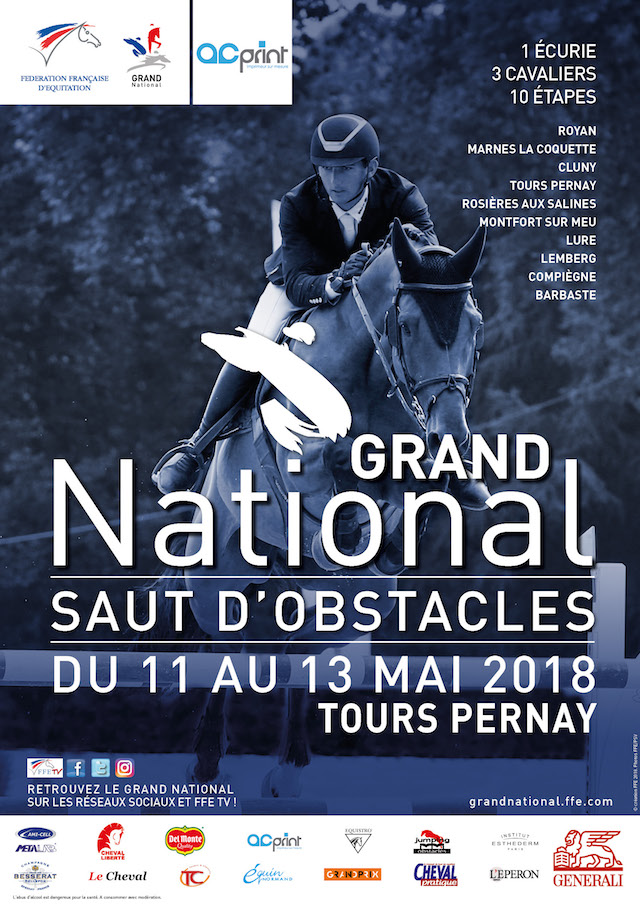 Affiche GN Tours Pernay 2018