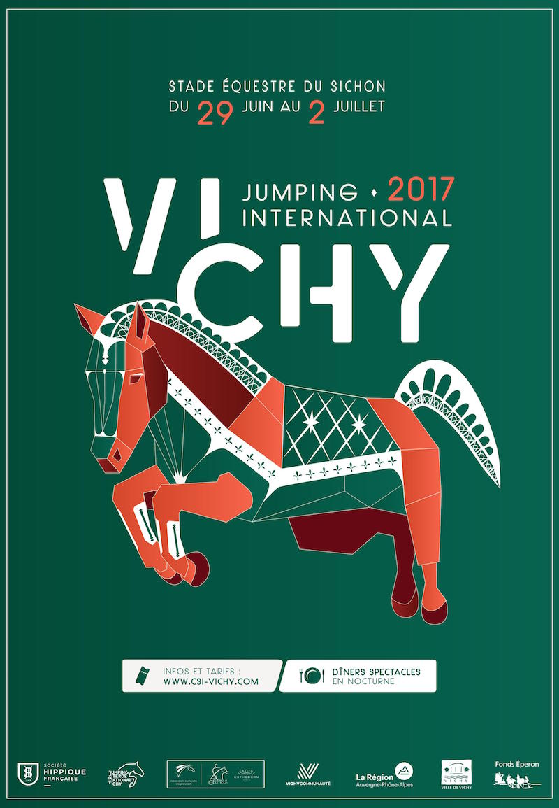 Affiche Jumping Vichy 2017
