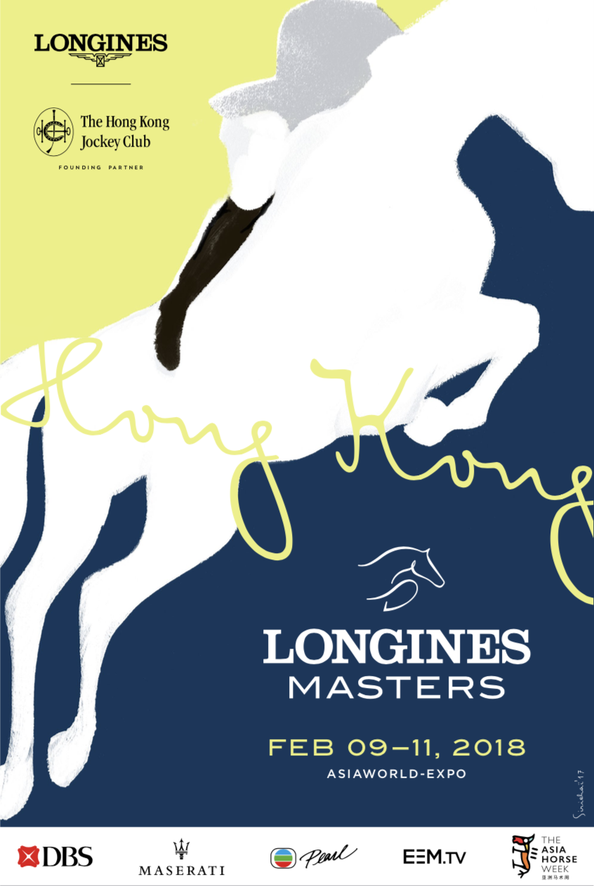 Affiche Longines Masters Hong-Kong 2018