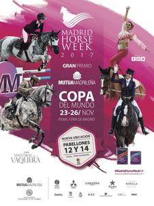 Affiche Madrid Horse Week 2017 largeP