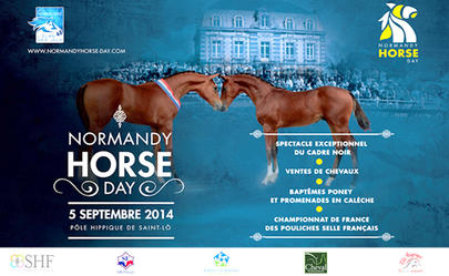 affiche normandie horse day largeL