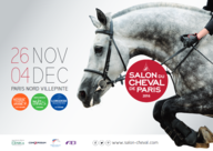 Affiche Salon du Cheval de Paris 2016 mediumL