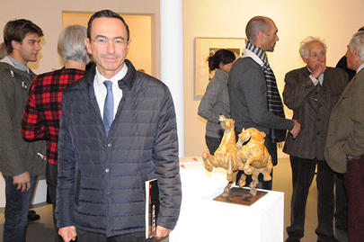 art cheval 2016 Bruno Retailleau et la sculpture Rapsodie largeL