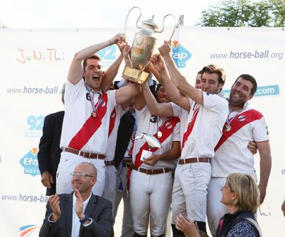 Bordeaux Horse Ball Champion de France 2016 largeL