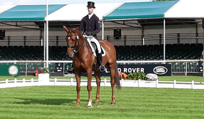burghley 2016  Arthur Duffort et Golden Eclipse largeL