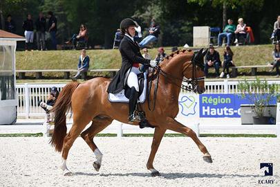 compiegne 2018 Cathrine Dufour avec Atterupgaards Cassidy largeL
