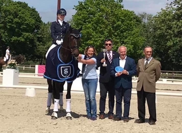 Emotion de Saint Val CIR Jardy dressage 2019