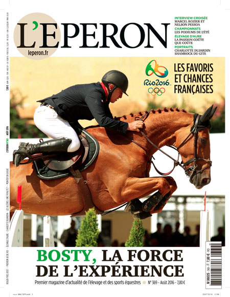 eperon couverture aout 2016