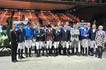 Equita Masters 2015- groupe de partants largeL