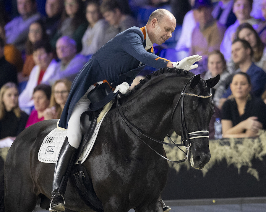 Hans Peter Minderhoud et Glock's Dream Boy