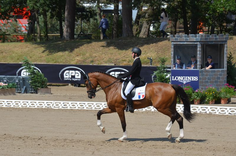 Hector Milochevitch Felipino Ch Europe Enfants dressage 2018