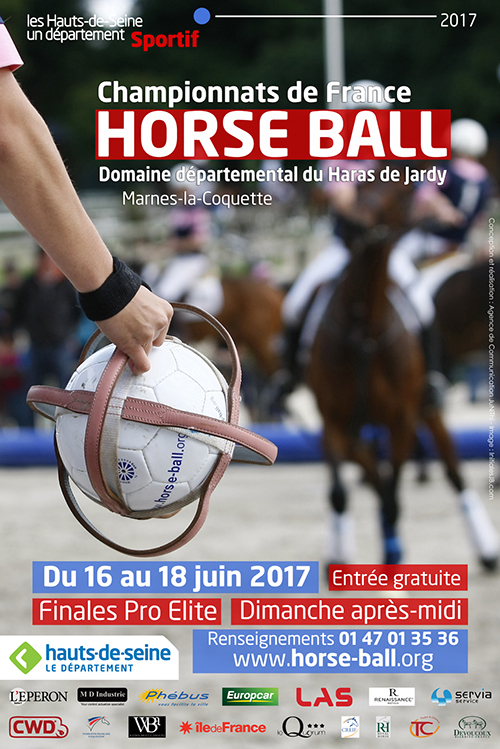 jardy 2017 horse ball affiche