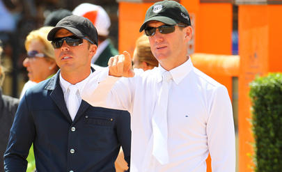 Kent FARRINGTON et McLain WARD largeL
