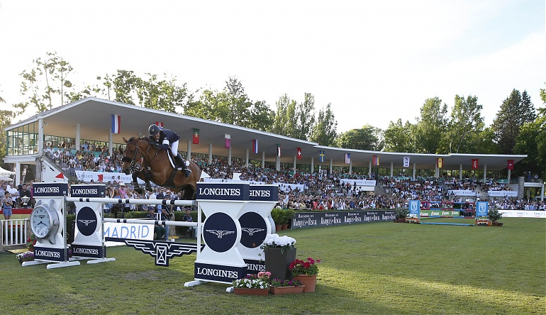 Kent Farrington Gazelle Madrid 2017