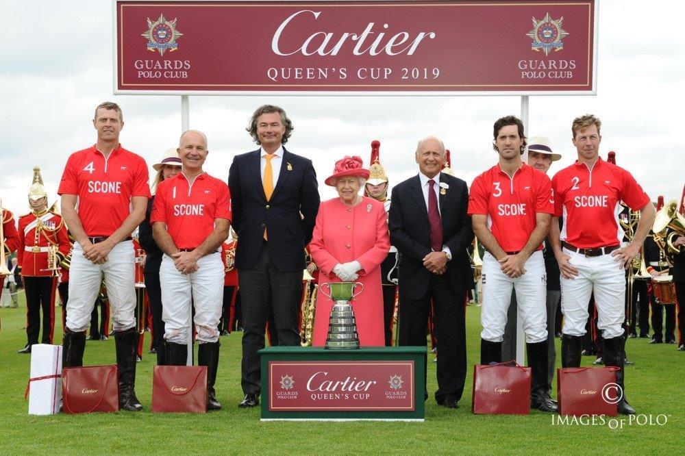 L'équipe Scone Cartier Queen's Cup 2019