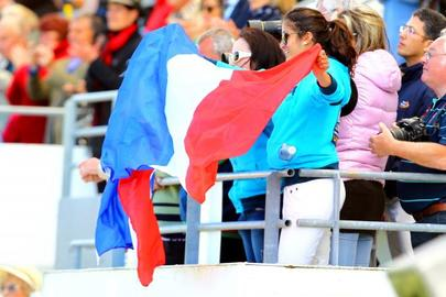 La Baule 2014- Supporters francais largeL