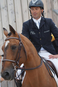Laurent Goffinet et Flipper d'Elle au Normandie Horse Day largeP