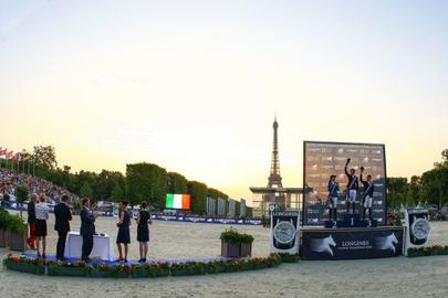 Le Global Champions Tour prend place à Paris largeL