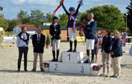 Le podium de saut d'obstacles Major Elite mediumL