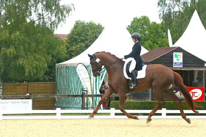 Lena Thouvenin et Diamondgio LTH Dressvalue Vierzon 2018 largeL