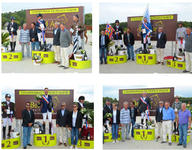 Les podiums 2014 du championnat Major mediumL