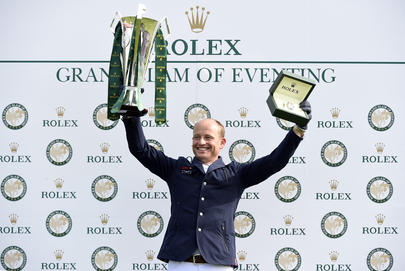 Michael Jung a réussi l'exceptionnelle performance du Rolex Grand Slam largeL
