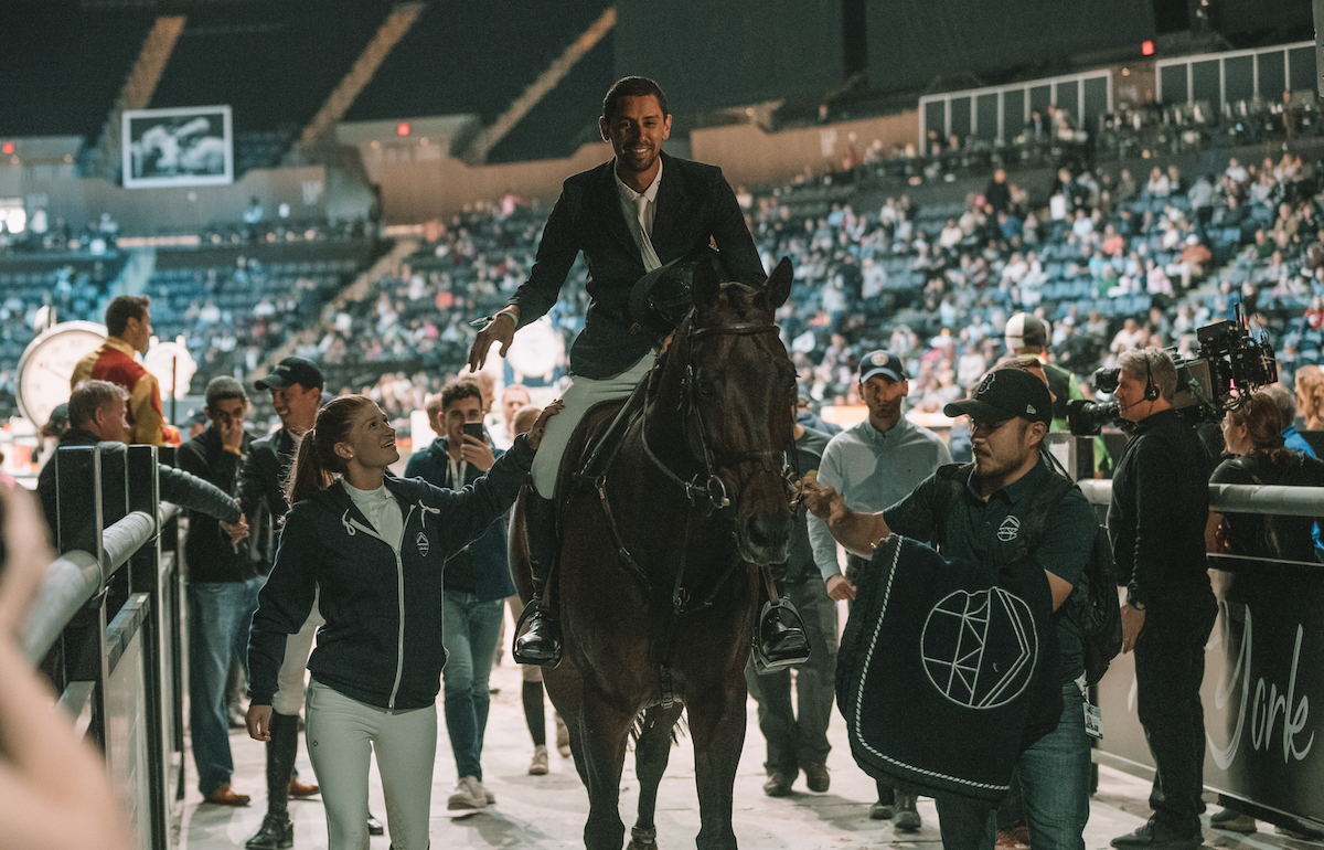 Nayel Nassar Lucifer V Longines Maters New-York 2019