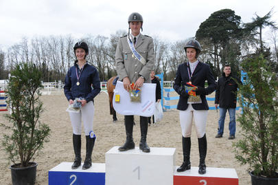 podium championnat départemental largeL