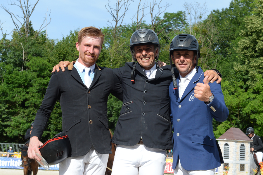 Podium GP CSI 3* Lons 2018