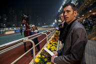Scott Brash a assisté aux courses à l'hippodrome Hong-Kong Happy Valley. mediumL