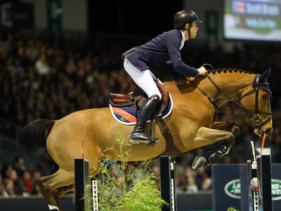 Scott Brash et Hello Guv'Nor largeL
