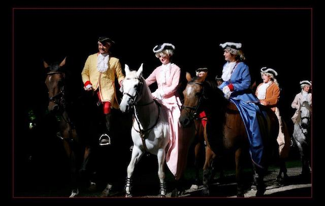 spectacle equestre ailly sur noye