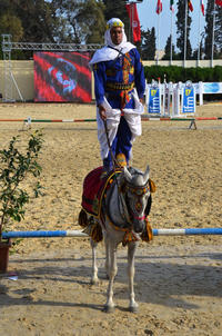 Tunisie Equitation traditionnelle largeP