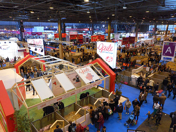La plus grande ferme du monde paris salon loisirs for Salon de paris 2017