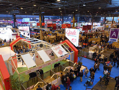 Vue d'ensemble du Salon de l'agriculture 2017 largeL