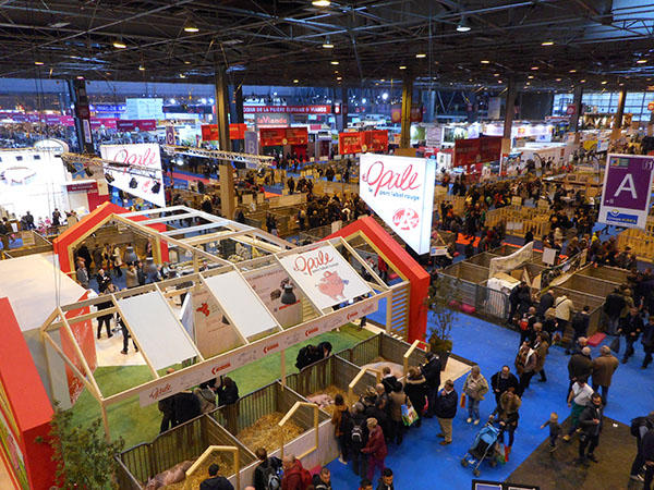 Vue d'ensemble du Salon de l'agriculture 2017 verylargeL